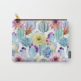 Cactus Pattern 11 Carry-All Pouch