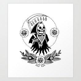 Garden Reaper Art Print