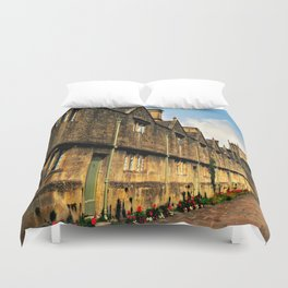 The Almshouses of Chipping Campden Duvet Cover