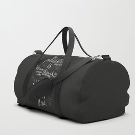 Fight that, quote for motivation and inspiration by Grace Hopper, positive vibes, life change Duffle Bag
