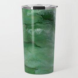 Jade - Original Art (encaustic painting) Travel Mug