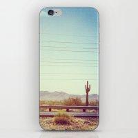 desert iPhone & iPod Skins featuring Desert by Whitney Retter