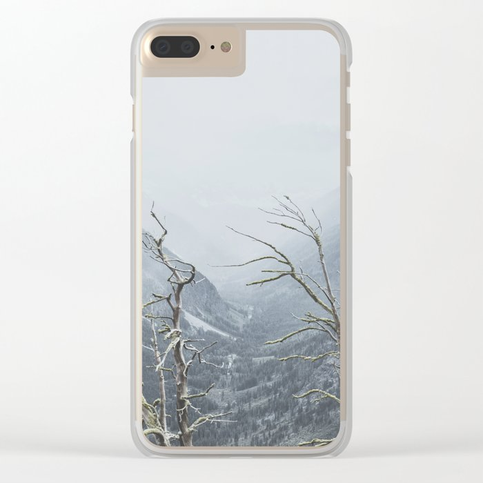 North Cascades Clear iPhone Case