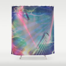 Refraction I Shower Curtain