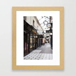 Bijoux Curiosities, Passage des Panoramas - travel photography Framed Art Print