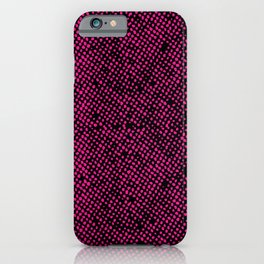 Simple Promise Neon Pink 0316 iPhone Case