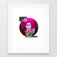 muppets Framed Art Prints featuring Muppets special  by Sergiomonster