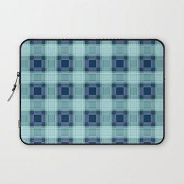 Blue plaid Laptop Sleeve