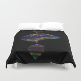Fabric of Light IV Duvet Cover