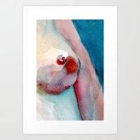 Red skin 01 Art Print