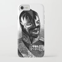 wrestling iPhone & iPod Cases featuring WRESTLING MASK 8 by DIVIDUS