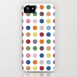 Polka Dots - Color Love iPhone Case