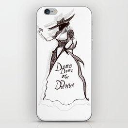 Dame or Demon iPhone Skin