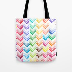 Colourful pattern Tote Bag