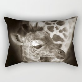 Baby Giraffe and Mother Rectangular Pillow