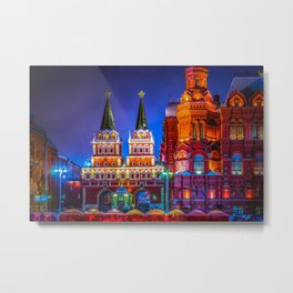 Iberian Or Resurrection Gate To Red Square Metal Print