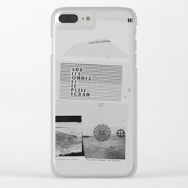 Bucht Clear iPhone Case