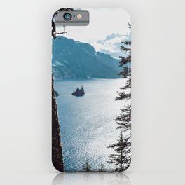 Mountain Lake Retreat iPhone Case