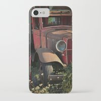 truck iPhone & iPod Cases featuring Maude's Truck by Curt Saunier