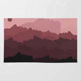 Love Mountain Range Rug