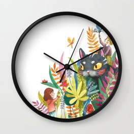 Little Painters Wall Clock