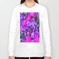 indigo Long Sleeve T-shirts featuring Indigo by Claire Day
