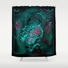 CROC-LORD Shower Curtain