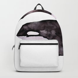 Watercolor Orca Killer Whale Backpack