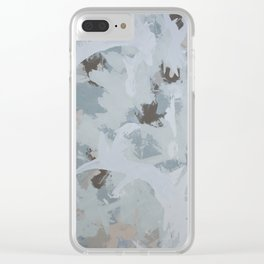 Ocean Forest Clear iPhone Case