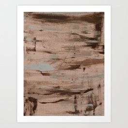 A touch of pale blue Art Print