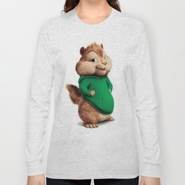 Theodore the cutes chipmunk Long Sleeve T-shirt