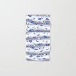 Dragonfly stripes Hand & Bath Towel