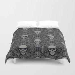 skull texture Duvet Cover