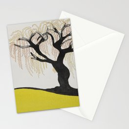 Soul Flies Free Like A Willow Tree Stationery Cards