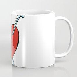 Three of Swords Coffee Mug