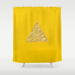 Tortilla Chip Shower Curtain