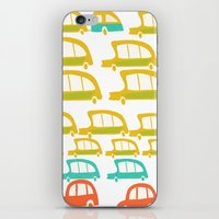 cars iPhone & iPod Skins featuring cars by mummysam