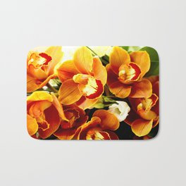 Orchid Corsage #decor #buyart #society6 Bath Mat