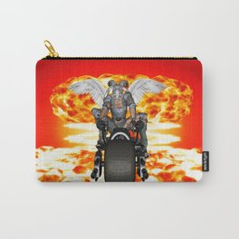 Biker of the Apocalypse-Conquest Carry-All Pouch