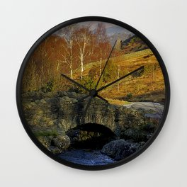 Ashness Bridge  Lake District Wall Clock