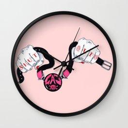 Shut Up Wall Clock