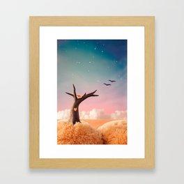The Heart of a Tree Framed Art Print
