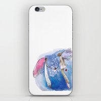 angels iPhone & iPod Skins featuring angels by SOYKO STUDIO
