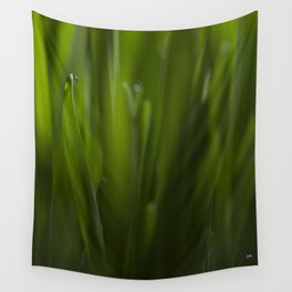 Cat grass Wall Tapestry