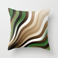 graphic design Throw Pillows featuring Graphic Design by gabiw Art