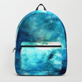 Ocean Blues Nebula galaxy Backpack