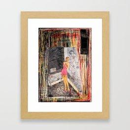 Improper Framed Art Print