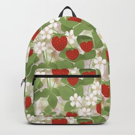 Strawberry. Backpack