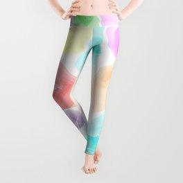 Colorful Aqua Leggings