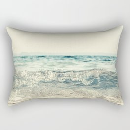 Vintage Waves Rectangular Pillow